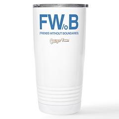 Friends Without Boundaries Travel Mug