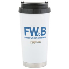 Friends Without Boundaries Travel Mug
