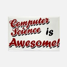 Computer Science Is Awesome Rectangle Magnet