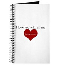 I love you with all my transp Journal