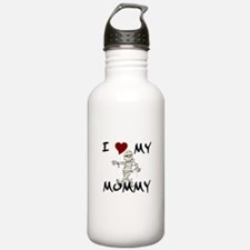 I LOVE My Mummy Water Bottle