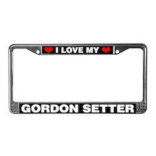 I Love My Gordon Setter