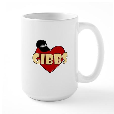 NCIS Gibbs Large Mug