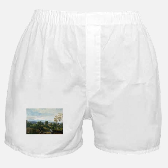 Asher Brown Durand A View of the Vall Boxer Shorts