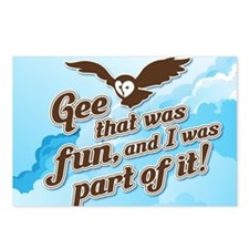 Gee That Was Fun Postcards (Package of 8)
