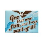 Gee That Was Fun Rectangle Magnet (100 pack)