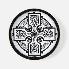Cute Celtic cross Wall Clock