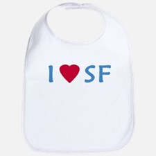 I Love SF - Bib