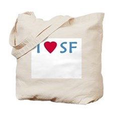 I Love SF - Tote Bag