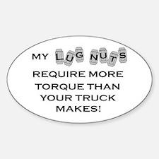 Lug Nuts Decal