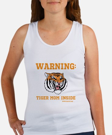 Orange Tiger mom design Tank Top