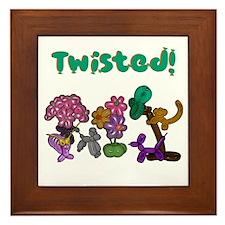 Twisted! Framed Tile