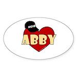 NCIS Abby Sticker (Oval 10 pk)