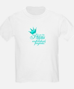 Unfinished Princess - Teal T-Shirt