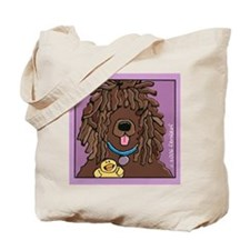 Irish Water Spaniel, Ducky Tote Bag