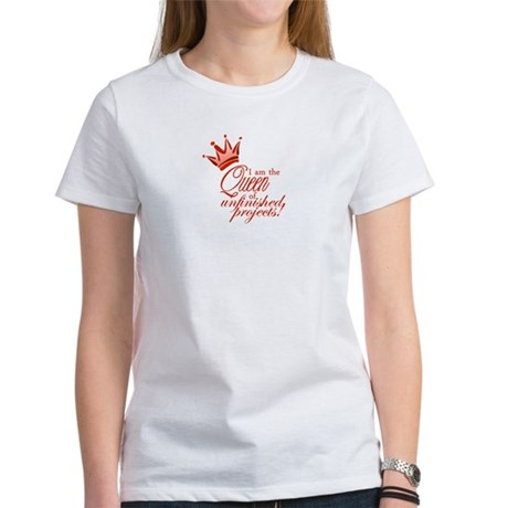 Unfinished Queen - Red Women's T-Shirt