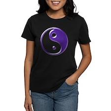 Purple Yin Yang Tee