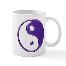 Purple Yin Yang Mug