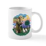 St Fran (ff) - 2 Siamese (A) Mug