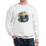 St Fran (ff) - 2 Siamese (A) Sweatshirt