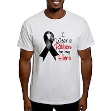 Hero Ribbon Melanoma Cancer T-Shirt