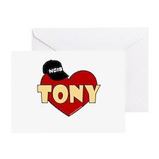 NCIS Tony Greeting Card