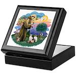 St Fran (ff) - 3 Siamese Keepsake Box