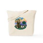 St Fran (ff) - 3 Siamese Tote Bag
