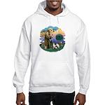 St Fran (ff) - 3 Siamese Hooded Sweatshirt