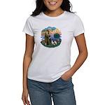 St Fran (ff) - 3 Siamese Women's T-Shirt