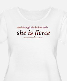 Fierce Shakespeare Plus Size T-Shirt