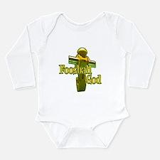 Foosball God Long Sleeve Infant Bodysuit