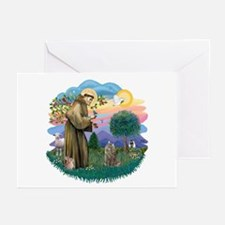 St Fran (f)-Norw. Forest Greeting Cards (Pk of 20)