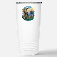 St Fran (f)-Norw. Forest Travel Mug