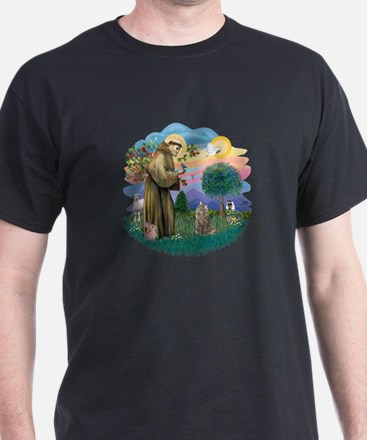 St Fran (f)-Norw. Forest T-Shirt