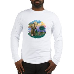 St Fran (f)-Norw. Forest Long Sleeve T-Shirt
