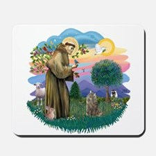 St Fran (f)-Norw. Forest Mousepad