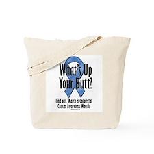Colorectal Cancer Awareness Tote Bag
