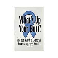 Colorectal Cancer Awareness Rectangle Magnet