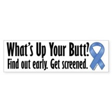 Colorectal Cancer Awareness Bumper Bumper Sticker