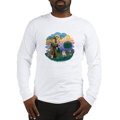 StFran(f)-Ragdoll (bl-cr) Long Sleeve T-Shirt