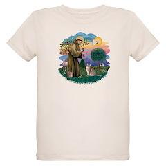 StFran(f)-Abyssinian (bl) T-Shirt