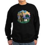 St Fran(f) - 2 Ragdolls Sweatshirt (dark)