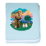 St Fran(f) - 2 Ragdolls Infant Blanket