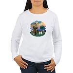 St Fran(f) - 2 Ragdolls Women's Long Sleeve T-Shir