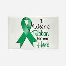 Hero - Liver Cancer Rectangle Magnet