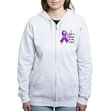 Hero - Leiomyosarcoma Zip Hoodie
