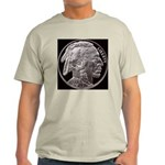 Silver Indian Head Ash Grey T-Shirt