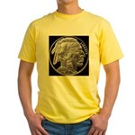 Silver Indian Head Yellow T-Shirt