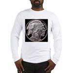 Silver Indian Head Long Sleeve T-Shirt